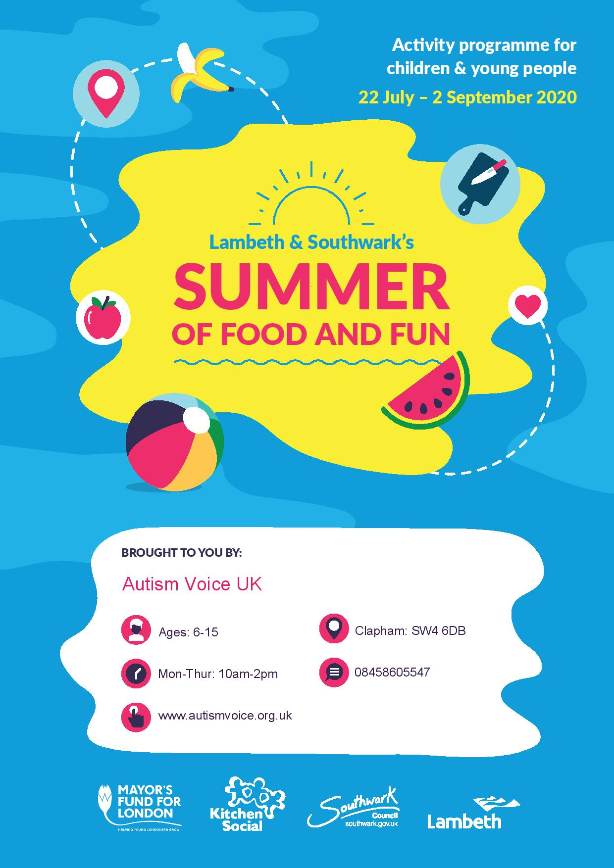 Lambeth & Southwark's Summer Of Food And Fun